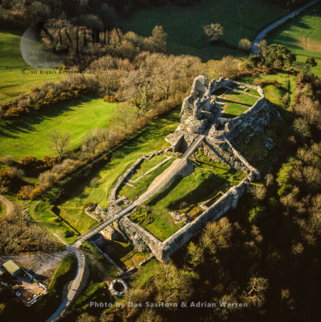 Montgomery Castle, Powys, North Wales