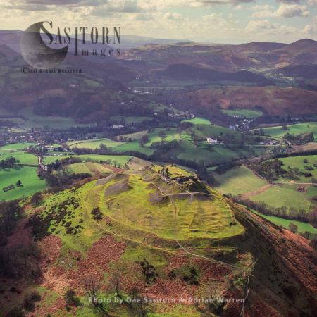Castell Dinas Bran, NE Of Llangollen, Denbighshire, North Wales