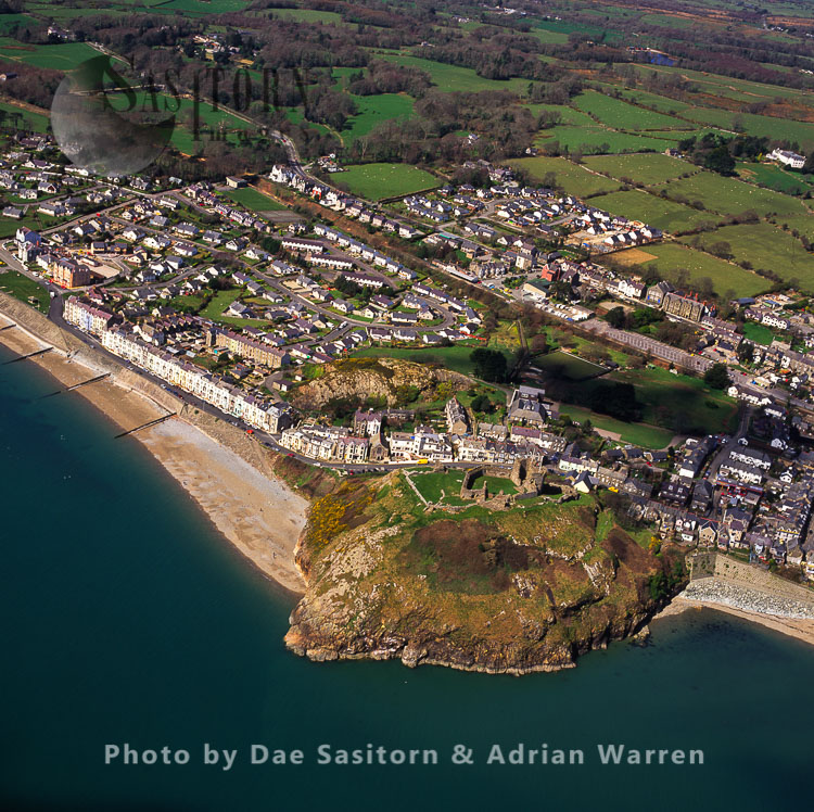 Criccieth and its Castle, North Wales