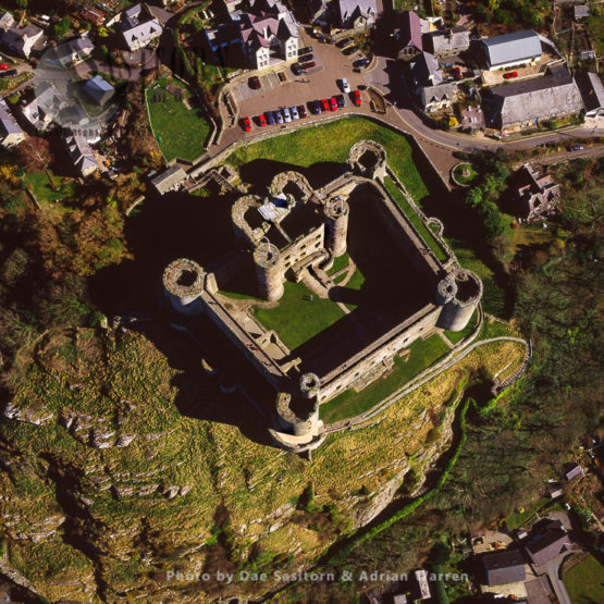 Harlech Castle, Town Centre, Stone Concentric Enclosure Fortress, North Wales