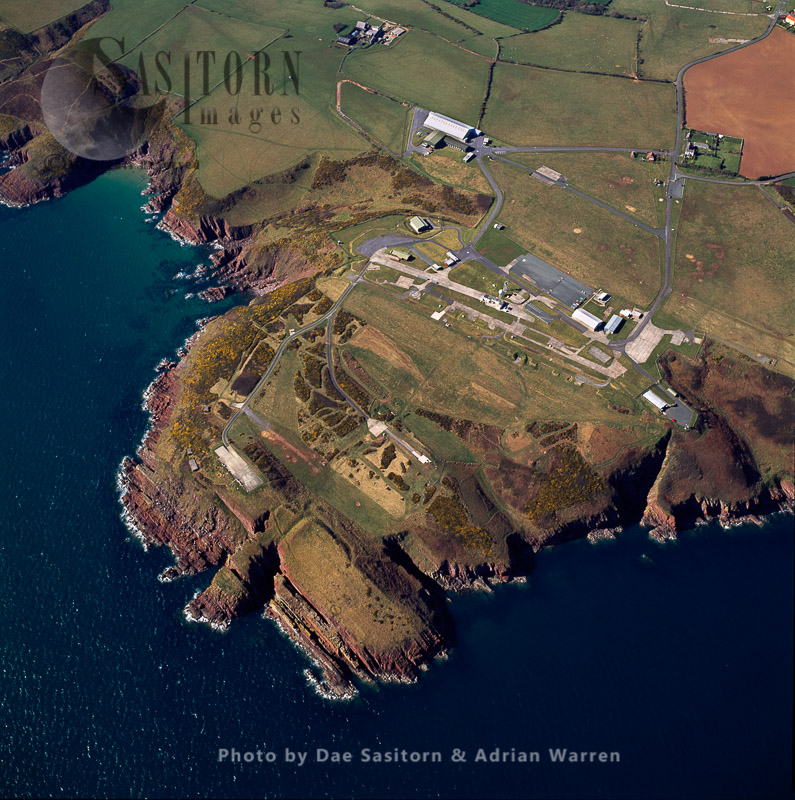 RAF Manorbier  Camp,  An Airfield, Initially Used As An Anti-aircraft Training School
