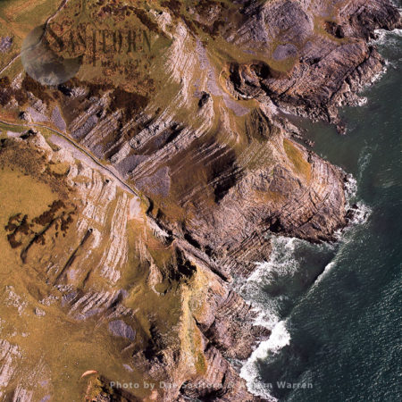 Cliffs At Fall Bay, South Of Middleton, Gower, South Wales