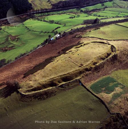 Caer Euni Hillfort, Llandderfel, Wales