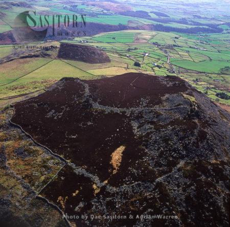 Carn Fadryn Castle, Llyn Peninsula, Gwynedd, North Wales