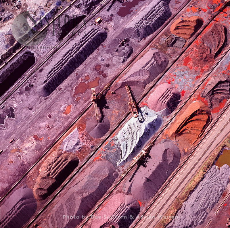 Iron Ore Terminal, Steelworks At Port Talbot, South Wales