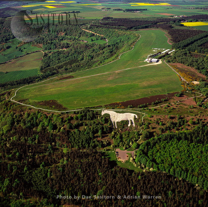 Kilburn White Horse (hill Figure), Yorkshire