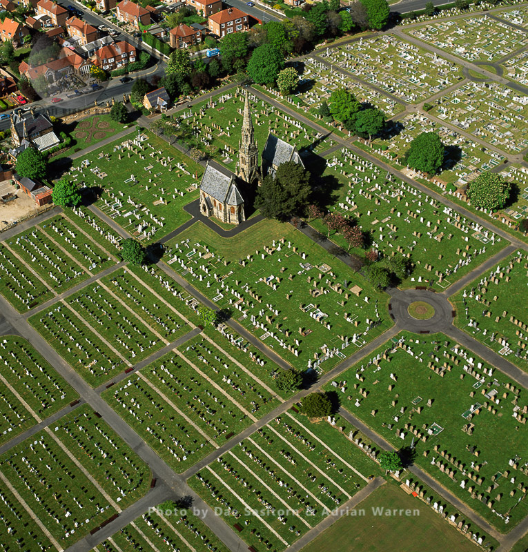 Cemetary At Bridlington Church, Bridlington, North Yorkshire