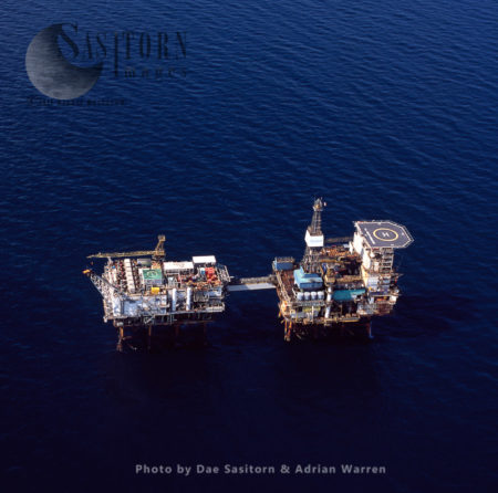 Beatrice Oil Platform (oil Rig), North Sea, Scotland