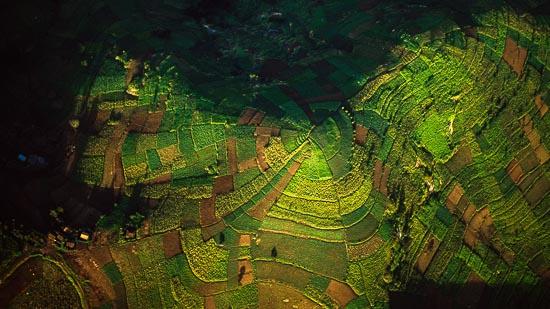 Aerial Images Of Rwanda And Congo