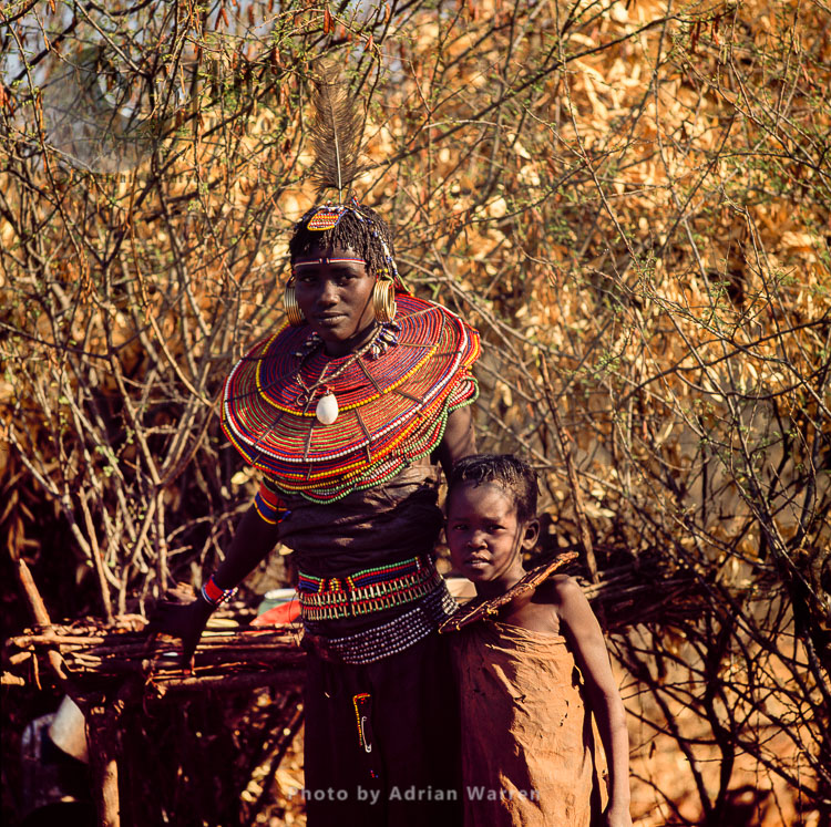 POKOT People, Northern Kenya, 1990, Africa