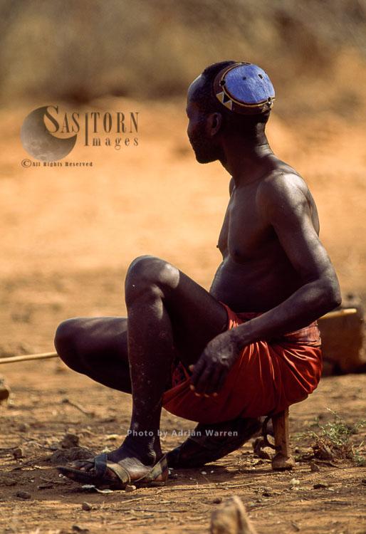 POKOT People, Northern Kenya, 1990, Africa