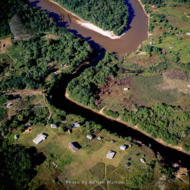 Jawalla (Kukui Mouth), Amerindian Settlement, Mazaruni River, Upper Mazaruni District, Guyana