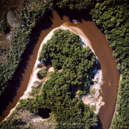 Mining Damage, Mazaruni River, Upper Mazaruni District, Guyana, South America