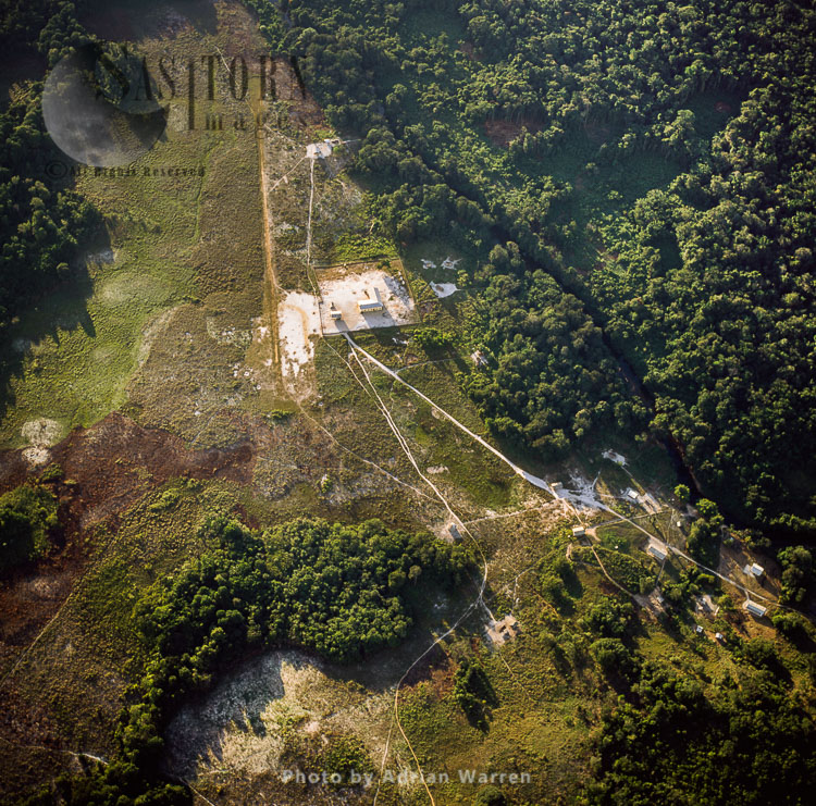Phillipai, Forest Clearing And Mining Settlement, In The Middle Of The Rainforest, Upper Mazaruni District, Guyana