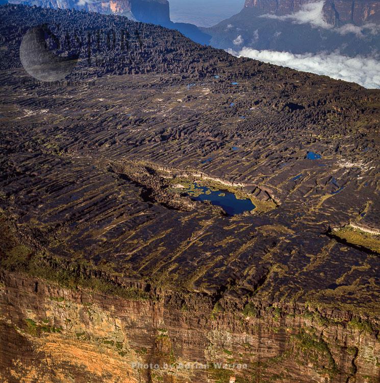 Summit Of Mount Roraima With Lake Gladys, Tepuis Region, Canaima National Park, Venezuela