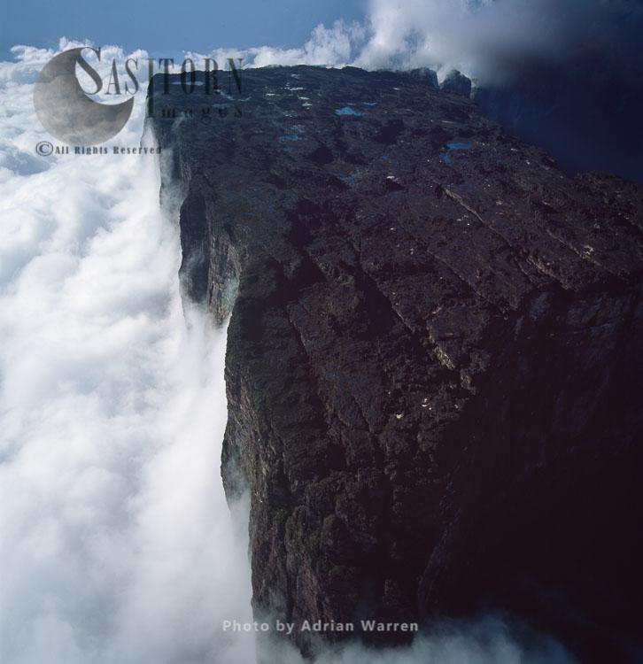 Northern Section Of Mount Kukenaam (Kukenan, Cuguenan), Tepuis, Canaima National Park, Venezuela, South America