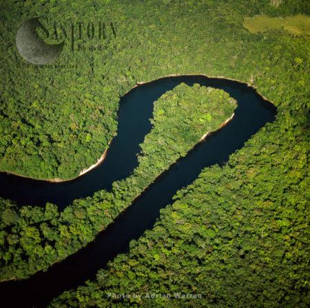 Kako River, Upstream From Kako Village, Upper Mazaruni District, Guyana