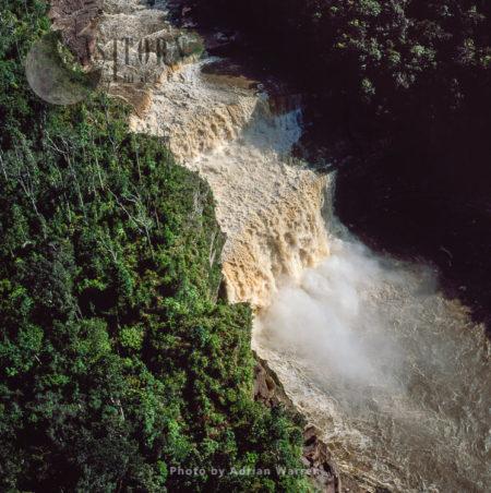 Peaima Falls, Upper Mazaruni River,  Guyana, South America
