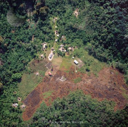 Amerindian Settlement, Ireng River (Rio Mau), Rupununi District, Guyana