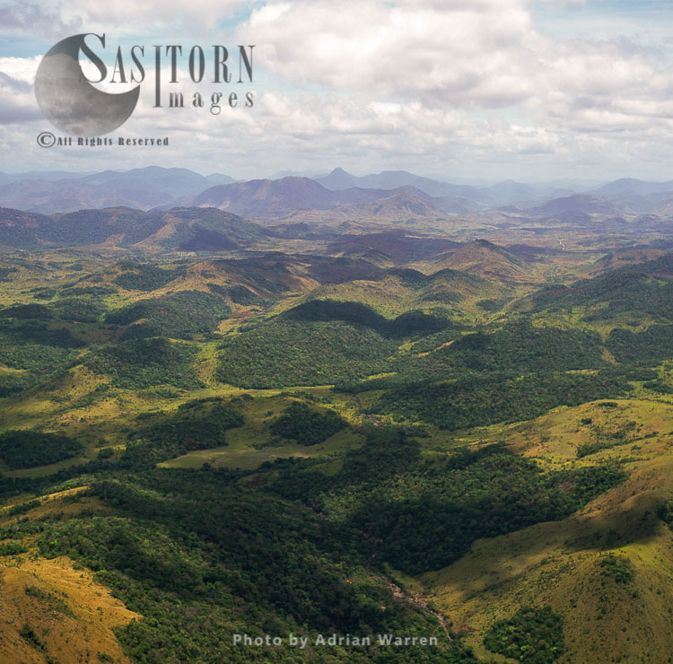 Hilly Country North Of Rupununi, South-west Of Guyana