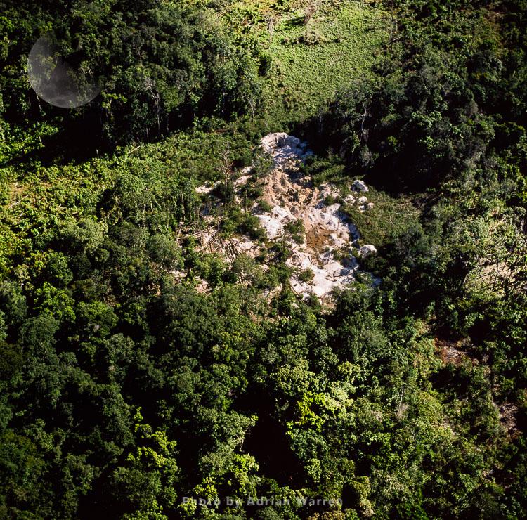 Mining Damage, (Mazaruni Upstream From Kamarang), Guyana