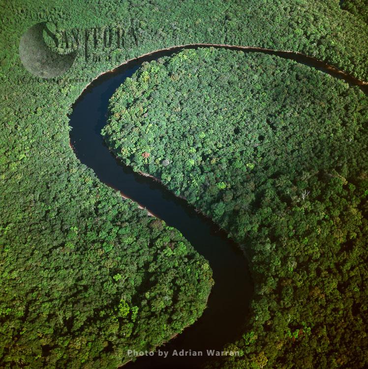 Kako River, Upper Mazaruni District, Guyana, South America