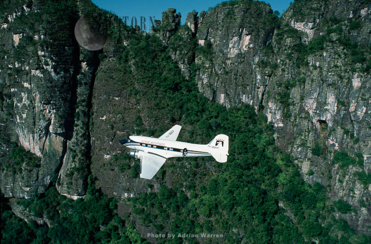 DC3 Over The Tepuis, Amazonas Territory, Tepuis, Venezuela, South America
