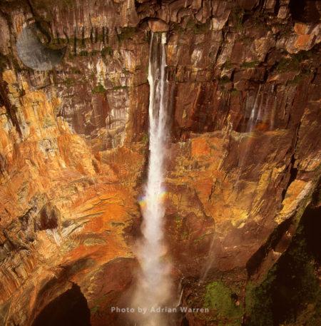 Angel Falls, Mount Auyantepui (Auyantepuy, Devil's Mountain), Tepuis, Venezuela, South Amrica