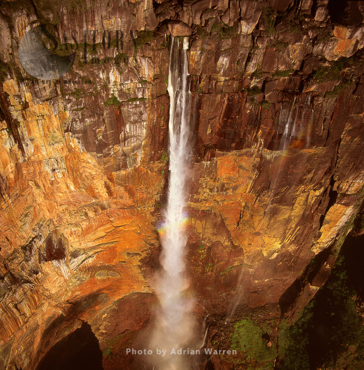 Angel Falls, Mount Auyantepui (Auyantepuy, Devil's Mountain), Tepuis, Venezuela, South Amrica