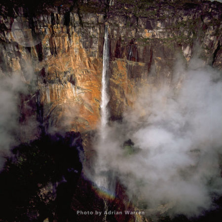 Angel Falls And Mount Auyantepui (Auyantepuy, Devil's Mountain), Tepuis, Venezuela, South Amrica