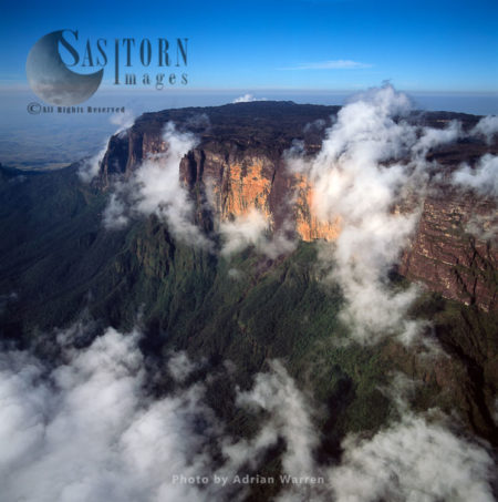 Mount Kukenaam (Kukenán, Kukenan, Cuguenan), Eastern Cliff, Venezuela