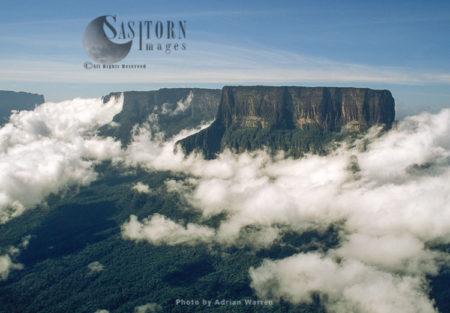Mount Kukenaam (Kukenán, Kukenan, Cuguenan), Tepuis, Canaima National Park, Venezuela