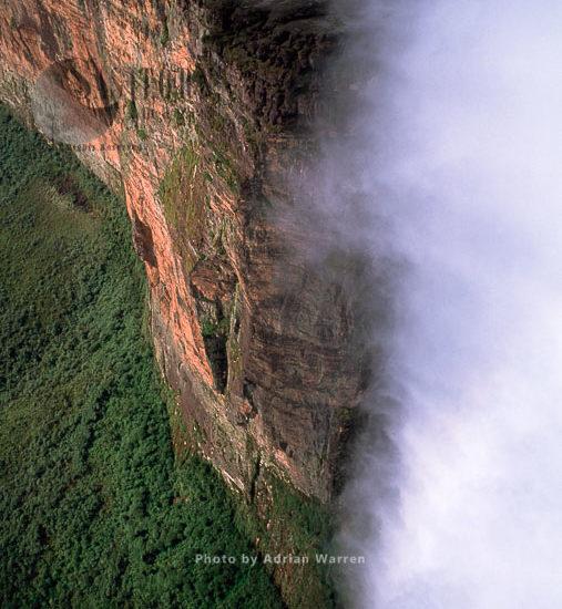 Mount Roraima (Cerro Roraima), Northern Prow, Tepuis, Venezuela