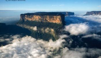 Aerial Footage Of Tepuis, Venezuela (103 Videos)