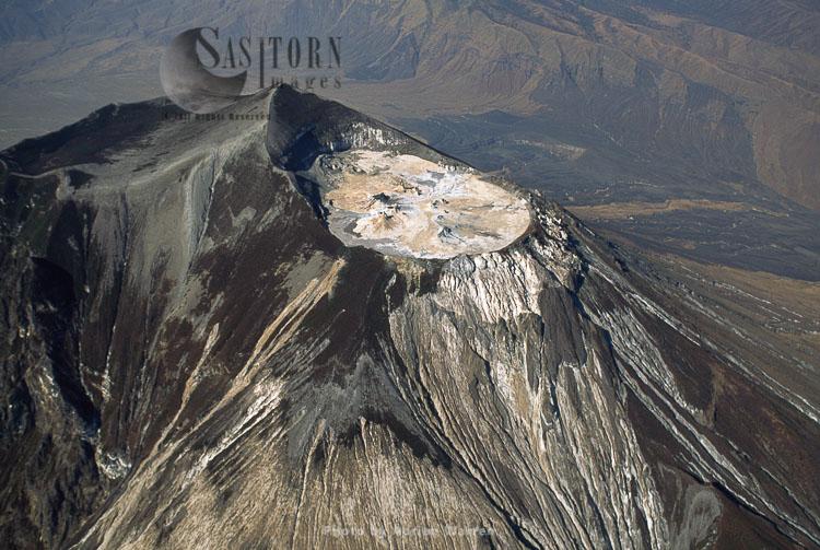 Summit Of Mount Lengai, African Rift Valley, Tanzania, 1987