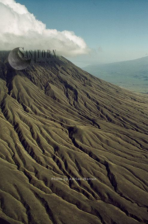 Mount Lengai, African Rift Valley, Tanzania, 1987
