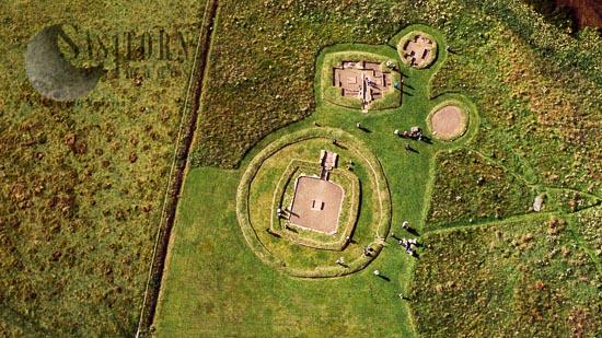 Barnhouse Neolithic Settlement, Orkney, Scotland