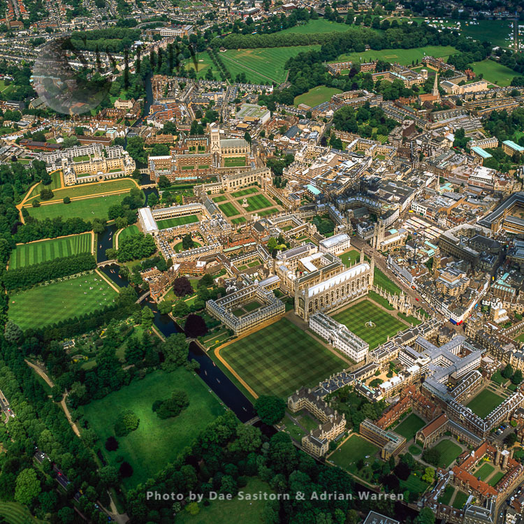 Cambridge, Home To The Prestigious University Of Cambridge, And The River Cam, Cambridgeshire