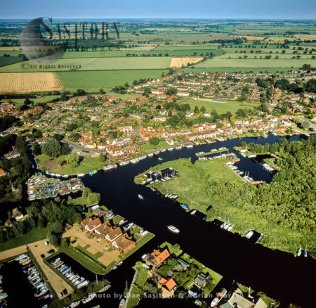The Broads At Horning, On The Bank Of The River Bure, Norfolk