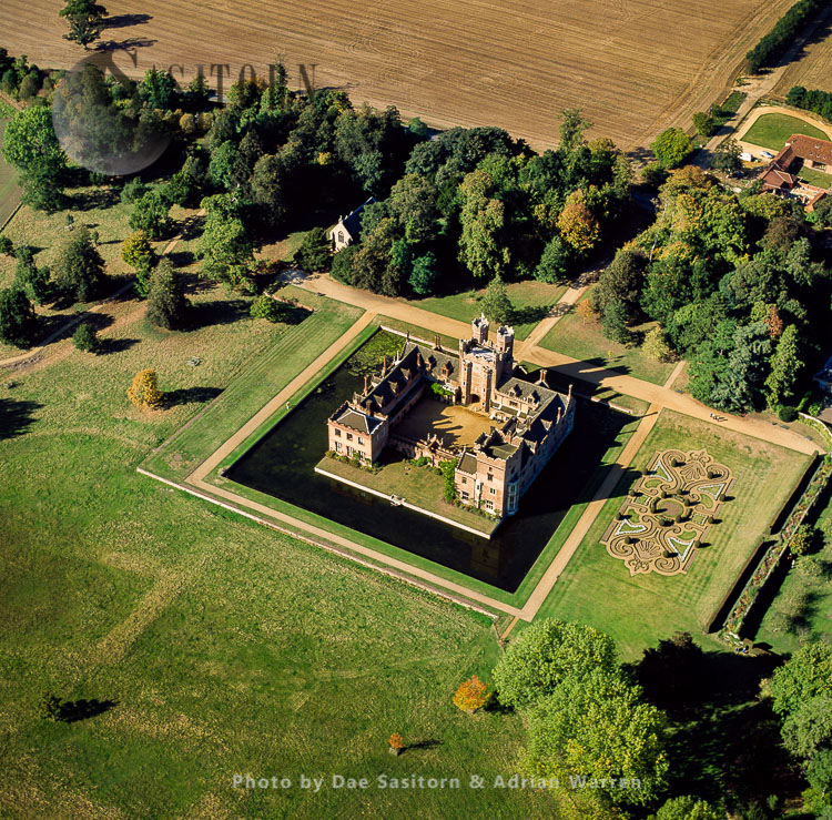 Oxburgh Hall, A Moated Country House In Oxborough, Norfolk