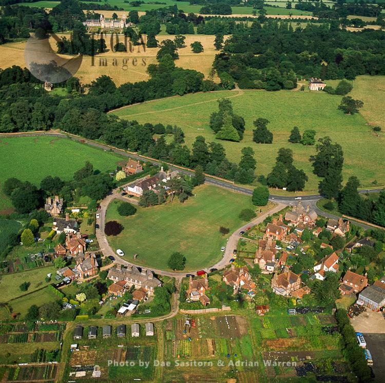 Somerleyton, With Somerleyton Hall In Background, Suffolk