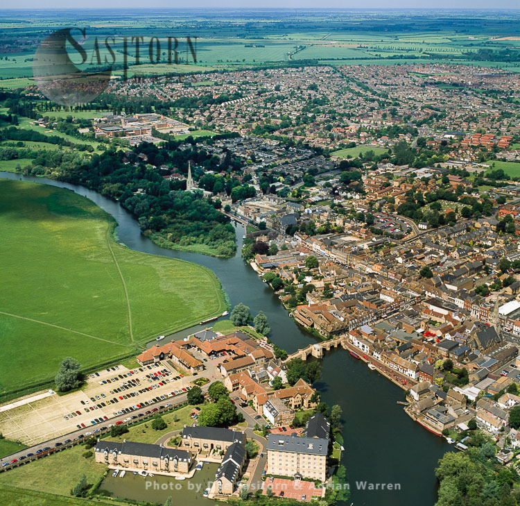 St Ives, On The Back Of The River Great Ouse, Cambridgeshire