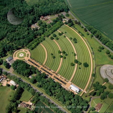 UK: WWII American Cemetery Memorial, Medingley, Cambridgeshire