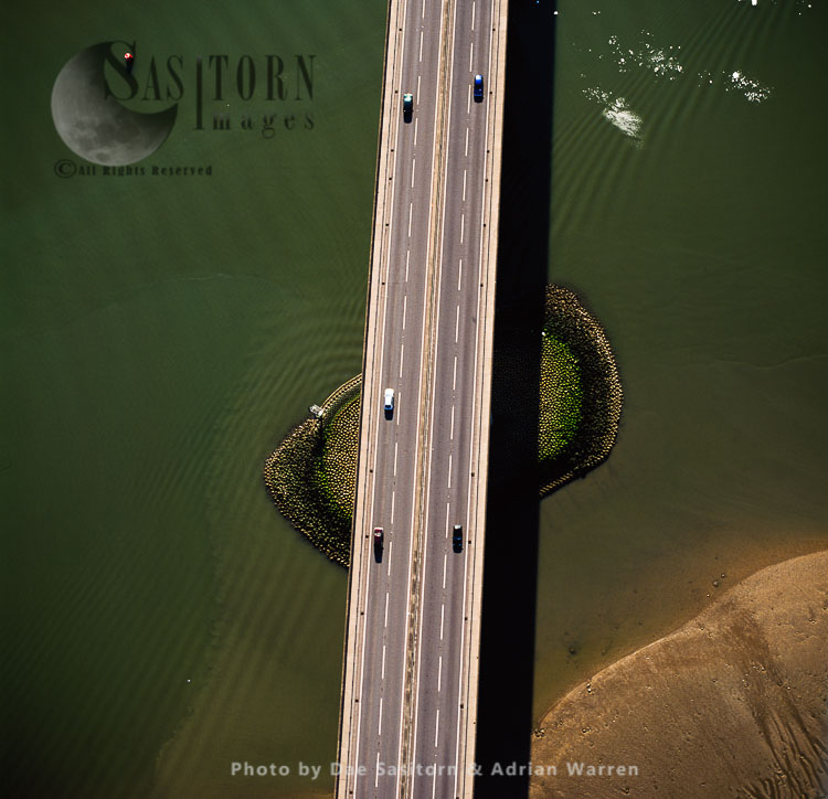 Orwell Bridge, Over The River Orwell, Ipswich, Suffolk, East Anglia