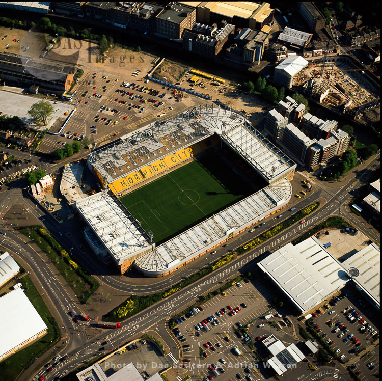 Norwich Football Stadium, Norwich, Norfolk