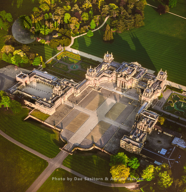 Blenheim Palace, A Country House, Woodstock, Oxfordshire