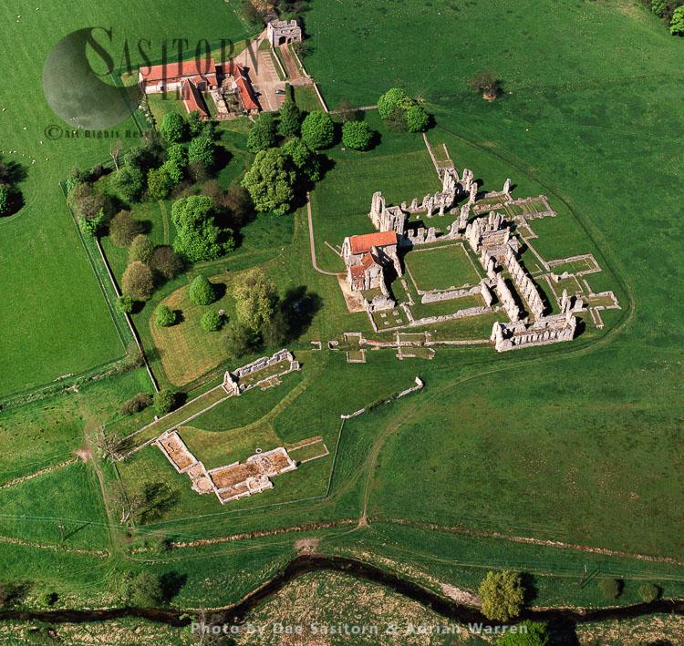 Castle Acre Priory, Castle Acre, Norfolk, East Anglia