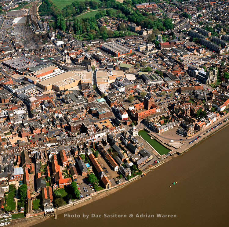 Kings Lynn On The River Great Ouse, Norfolk, East Anglia