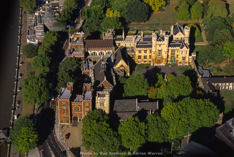 Lambeth Palace, Official Residence Of The Archbishop Of Canterbury, London