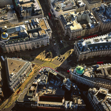 Piccadilly Circus, A Road Junction And Public Space Of London's West End In The City Of Westminster